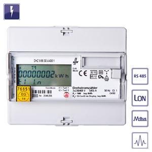 DHZ M-BUS 5//1A gee, DS-digit. Hutsch.-Zähler, Wirkenergie - Messwandleranschluss - M-BUS, geeicht, DHZ M-BUS 5//1A gee