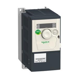 Frequenzumrichter ATV312, 0,75kW, 1,8kVA, 60W, 200-240V- 1-ph. Vers.span.
