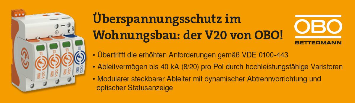 Der V20 von OBO