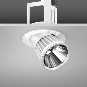 Einbaustrahler LED/45W-4000K D180, H303, DALI, 4650 lm