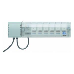 Heizungsaktor 6fach Triac, 24 V AC, Ap grau KNX