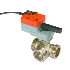 HUV 1, Heizungsumschaltventil HUV 1, mit Stellmotor, 1 Zoll