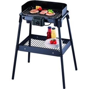 Barbecue-Grill, ca. 2500 W, Regler, schwarz, Standuntergestell,
