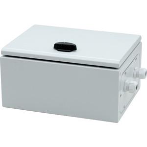 1032/2000HI 10,3 k, Stahlblech-Vorschaltgerätekasten ohne Zündgerät, für 1 Hochdrucklampe 2000W HI, Farbwiedergabestufe 1, Anschlussspannung 400V, SKI, IP66, kompensiert