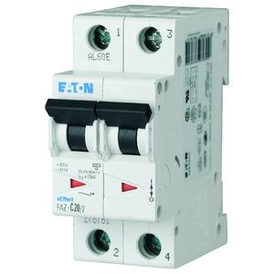 FAZ-C4/2, Leitungsschutzschalter, 4A, 2p, C-Char
