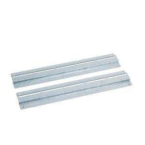 PX 482,6 mm (19) Einbausatz (verzinkt) bestehend aus 4 Tiefenstreben, für 800 mm Tiefe, verpackt. ** Bei 800 mm Breite 482,6 mm (19) Adaptersatz 782