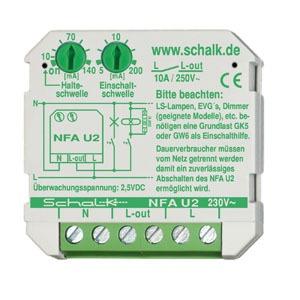 NFA U2, Netz-Feld-Abschaltautomat NFA U2, 230V AC, (Unterputz)