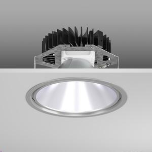 Einbaudownlight LED/21W-3000K D241, H150, DALI, 2150 lm