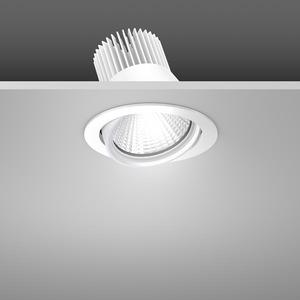 Einbaustrahler LED/39,2W-4000K D157, H142, dim.DALI, 4600 lm