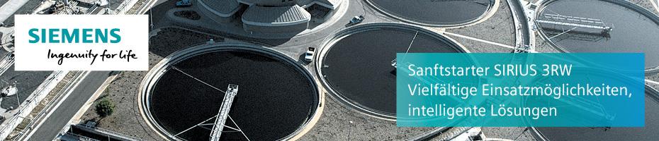 Sanftstarter SIRIUS 3RW von Siemens