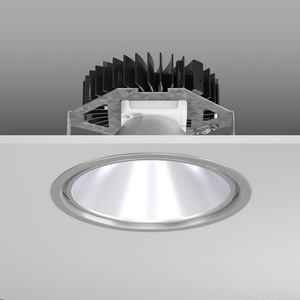 Einbaudownlight LED/30W-3000K D241, H150, DALI, 3200 lm
