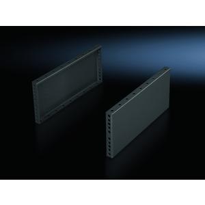 TS 8602.040, Sockel-Blenden, seitlich, Höhe 200 mm, für Tiefe 400 mm, RAL 7022, Preis per VPE, VPE = 2 Stück
