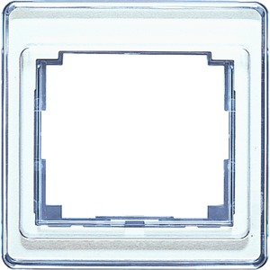 SL 581 WW, Rahmen, 1fach, aus transparentem Acrylglas, farbig hinterlegt