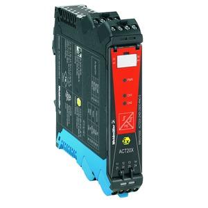 ACT20X-HDI-SDO-RNO-S, Signaltrennverstärker, Ex- Eingang: NAMUR- Sensor / Schalter, Safe- Ausgang: Relais, Schließer, 1 Kanal