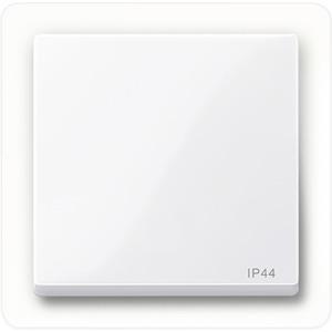 Wippe IP44, aktivweiß glänzend, System M