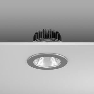 Einbaudownlight LED/16,7W-3000K D156, H114, breit, 1950 lm