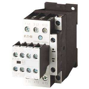 DILM32-32(RDC24), Leistungsschütz, 3-polig + 3 Schließer + 2 Öffner, 15 kW/400 V/AC3, DC-betätigt
