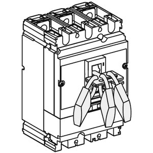 Abschließvorrichtung Kipphebel, für NS/NR 100-250 NSF150-250
