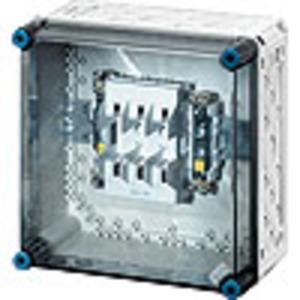 Mi 4205, Mi-NH-Sicherungsgehäuse Mi 4205, 1xNH 0, 3polig, 125 A + PE + N