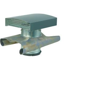 LWF DH 160 Schrägdach, Dachdurchführung für Schrägdach, Aluminiumhaube, DN 160