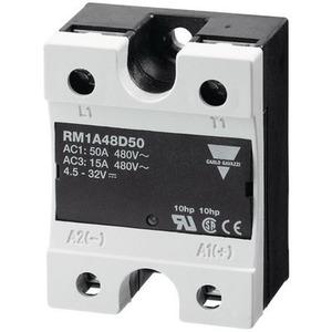 Halbleiterrelais, 1-pol., 480VAC, 25AAC, Nullspannungsschalter, mit Varistor