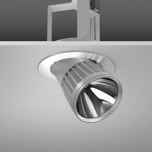 Einbaustrahler LED/27W-3000K D180, H213, breit, 2800 lm