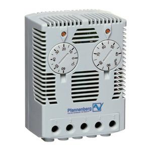 FLZ 610 230V AC 40-90% rF, Kombi Hygrostat/Thermosta FLZ 610 230V AC 40-90% rF
