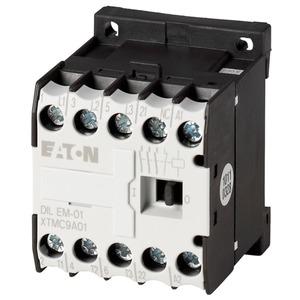 DILEM-01(230V50HZ,240V60HZ), Leistungsschütz, 3-polig + 1 Öffner, 4 kW/400 V/AC3