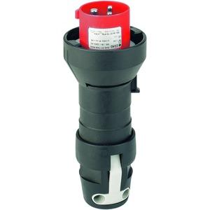 GHG 511 7506 R0001, Ex-Stecker für Zone 1/21, 16 A, 5-pol., GHG 511 346-415 V, 6 h, 1 Leitungseinführung