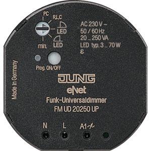 FM DU 20250 UP, eNet Funk-Dimmaktor, 1fach, Mini