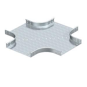 RK 640 FS, Kreuzung horizontal, runde Bauform 60x400, St, FS