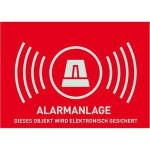 Warnaufkleber Alarm -D- 148x105mm