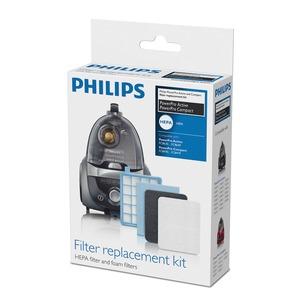 Filter Ersatzkit für Power Pro Compact und Power Pro Active, Stuabsauger ohne Beutel (Inhalt: 4 Motorschutzfilter, 1 HEPA Filter, 1 Schaumfilter)