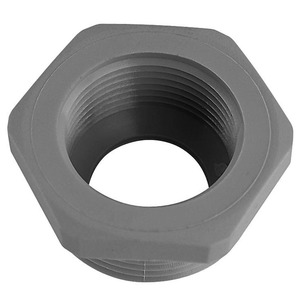 Reduktion 6-kant M 50 M 40 Kunststoff dunkelgrau