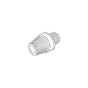 433W, Klemmnippel, Länge 25 mm, Gewinde M10x1, für Kabel-Ø 5-6,8 mm, Kunststoff PE, Farbe weiß