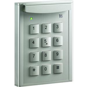 Codeschloss codelock 12 zur Zutrittskontrolle, für bis zu 10 Codes, AP silber