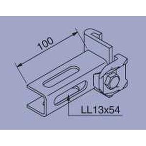 916J47, Anschlußelement für I 80 pulverbeschichtet