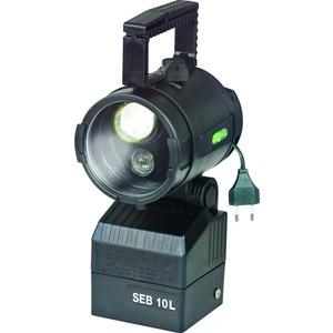1 1147 000 810, Ex-Handscheinwerfer SEB 10/10L für ladbare LiFePO4-Batterie SEB 10L mit zweilinsigem Hochleistungs LED-System, Streulinse und Batterie (ladbar direkt