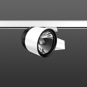 Strahler LED/45W-3100K 227x146, DALI, engstr., 3850 lm
