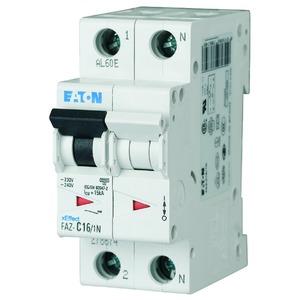 FAZ-C10/1N, Leitungsschutzschalter, 10A, 1p+N, C-Char