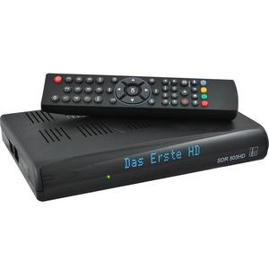 DVB-S2 HD-Minireceiver , HDMI-Schnittstelle, Alpfanum. Display, CI-Slot, USB (PVR-ready)