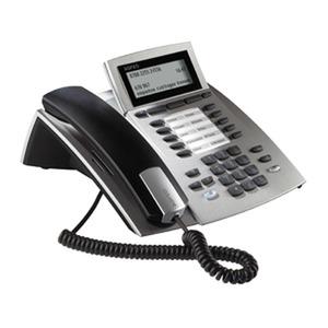 ST 42 silber, Systemtelefon für Anlagen mit S0- und UP0-Schnittstelle