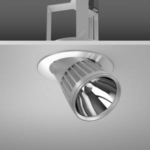Einbaustrahler LED/27W-3100K D180, H213, DALI, 2400 lm