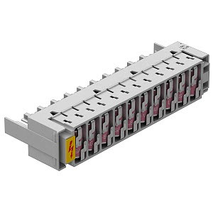 LSA-B-MAG, Basisschutzmagazin 10 Doppeladern für LSA Plus 180V