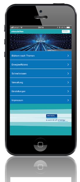 Rexel eVorschriften App