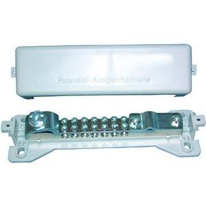 HPS2, Potentialausgleichsschienen 7X2,5-25qmm, 1xBandeisen, 1 Rd Leiter 8-10mm