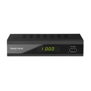 TR 63, Triax TR 63, DVB-T2 HEVC, FTA