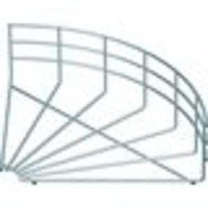 Bogen für Gitterrinne