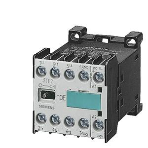 3TF2010-0AM0, Schütz S00 3pol. AC-3 4kW/400V, Hilfsschalter 10E (1NO) AC-Bet.