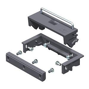 SAK 9011, Schnurauslass für Rahmenkassette, PA, graphitschwarz, RAL 9011